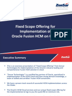 Oracle Fusion HCM FSO