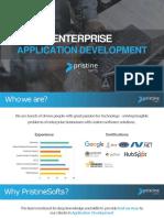 Pristinesofts Enterprise Application development
