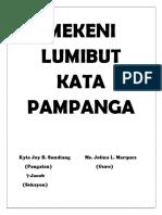 Mekeni Lumibut Kata Pampanga