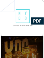 NYDO Vietnam Report - The 3rd Anniversary
