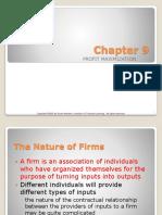 Chapter 9 Profit Maximization -- Maksimasi Keuntungan