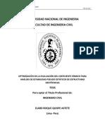 Pt-optimización de La Evaluación Del Coeficiente Sísmico Para Análisis de Estabilidad Pseudo Estáticos de Estructuras Geotécnicas