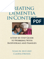 Susan M. McCurry, Claudia Drossel - Treating Dementia in Context_ a Step-By-Step Guide to Working With Individuals and Families (2011, Amer Psychological Society)