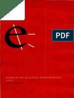 BRINGHURST Dando Forma Pagina in Elementos Estilo Tipografico