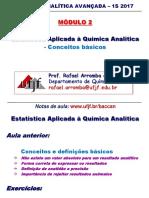 Modulo 2 Estatistica Conceitos Básicos 1s 2017