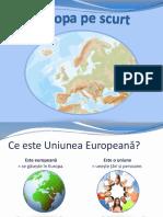 Scurtă Introducere Despre Uniunea Europeană