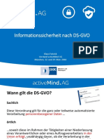 Activemind AG Informationssicherheit Nach DSGVO März 2018