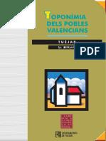Toponímia dels pobles valencians. Tuéjar
