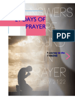 21 Days Prayer for April 2018
