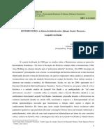José Alisson de Abreu Bispo - Historicismos (Texto)
