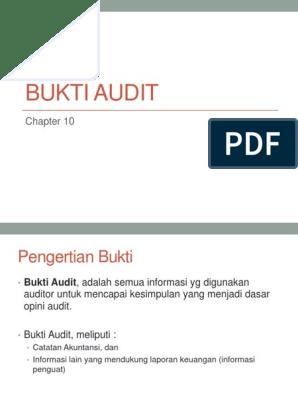 Ch 10 Bukti Audit 1
