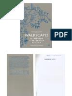 Walkscapes - O caminhar como prática estética
