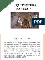 ARQUITECTURA BARROCA exposicion
