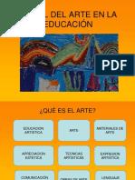1-El Rol de La Educación Artística