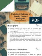Tugas Individu Statistical Methods of Quality Control Histogram
