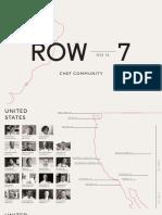Row 7 Chef Map