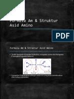 Formula Am & Struktur Asid Amin0