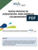 Proceso de Acreditación - Adasa 2018