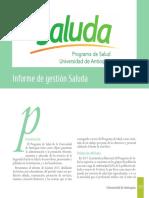 Balance Social 2017 Programa Salud