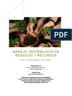 Manejo y Distribucion de Residuos y Recursos