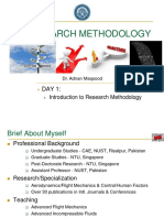 1 Introduction to Research Methodology