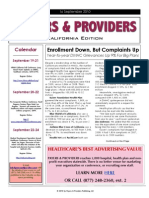 Payers & Providers – Issue of September 16, 2010