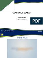 1. Generator DC