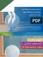La Reforma Educativa Que Mexico Necesita