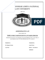Administrative Law F.D