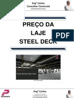 Preço Da Laje Steel Deck