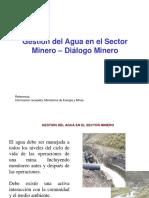 Aula Gestion Agua SectorMinero