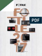 Fotile Catalogue EL 2017 Vol.2