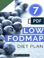 7 Day Low Fodmap Meal Plan v2