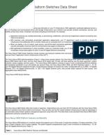 Cisco Nexus 9500 Platform Switches Data Sheet