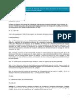 Decreto 263-90 Vigencia Transporte Carretero Mercorus