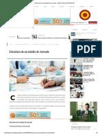 Estructura de Un Estudio de Mercado - DIARIO DEL EXPORTADOR