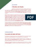 Cuentos y Leyendas de Pando Santiaguito