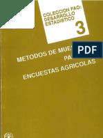 SDS 3Metodos de Muestreo Para Las Encuestas Agricolas
