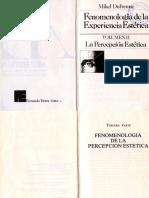 Dufrenne Mikel - Fenomenologia De La Experiencia Estetica II.compressed.pdf