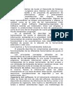 Las Herramientas de Ayuda Al Desarrollo de Sistemas de Información