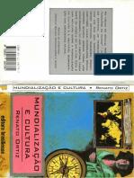 Mundializacao e Cultura - Renato Ortiz