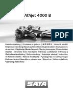 Manual SATAjet 4000 B