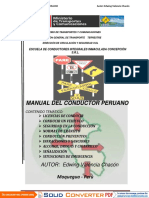 Manual Del Conductor de Tracto Camion