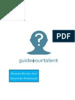 Informe GuideYourTalent