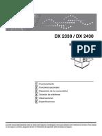 Ricoh Dx 2430