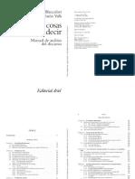 """Calsamiglia, H. y A. Tusón (2001), """"La expresión de la subjetividad a través de la modalización"""""""