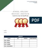 Shool Holiday English Practice y4 Mac