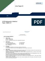 6230_26 Practice Paper 3H - Set B Mark Scheme (1)