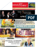 Sun City Festival April Newsletter 2018