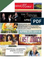 Sun City Festival April Newsletter 2018